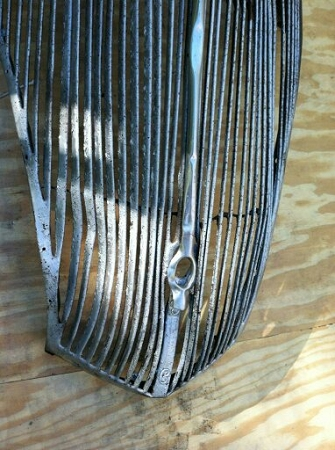 1936 Ford Grille Rough But Good For A Rat Rod
