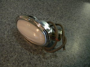 1937 1940 ford interior dome light