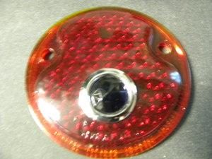 1932 ford glass blue dot lens for Garage ford lens