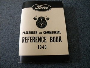 1940 Ford Pass and Commercial Owners Manual