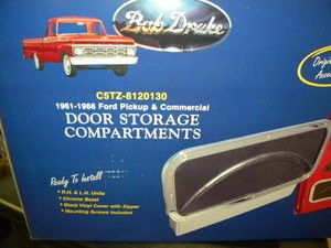 1961-1966 PU Door Storage Compartment