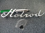 HOT ROD Car Emblem----nice!