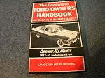 1932 - 1955 owners hand-book / repair and maintenance