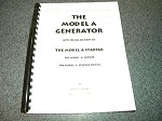 Model A Starter and Generator Book