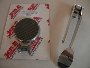 Hot Rod Spoon Gas and Brake Pedal Kit (2pc)