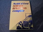 Model A Ford Service Bulletins - Hardbound BEST SELLER LIST!