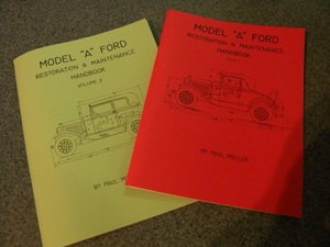 Model A- Volume 1 and 2 maintenance and restoration books