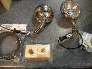 1930 - 1931 Model A Ford Cowl Lamp Kit (complete)