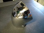 Chrome Plated Carburetor Air Scoop