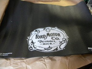 Ford Motor Co Logo Fender Protector. Fender Cover