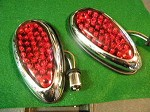 1938 1938 Ford LED Tail Lamps - pr - Plug in!