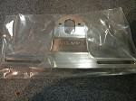 Model A Stainless Rear License Plate Bracket