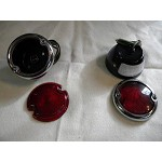 1935 1936 Tail lamps Pair RH+LH