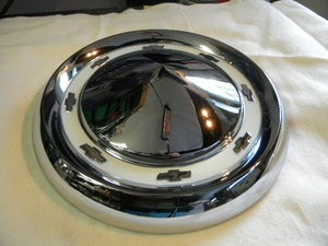 1955 Chevy Hubcap- Chevy Approved set of 4.