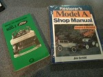 Model A Ford Shop Manual and HOW TO RESTORE your Model A Ford books