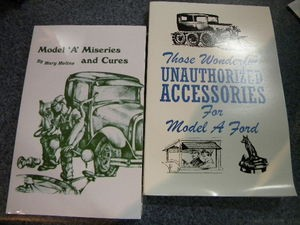 Model A Ford Gift Book Set! Misseries and Cures and Unauthorized Accessories!