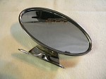 1932 - 1936 Stainless Polished Interior rear View Mirror (closed car)