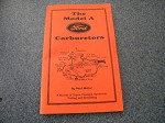Model A Ford Carburetor Manual