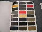 Ford 1928 -1936 repaint manual WITH FREE paint chips