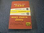1953-1957 Ford Body Parts Complete Manual