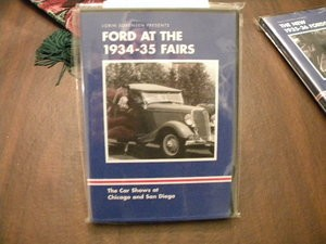 FORD at the 1934 - 1935 Fairs