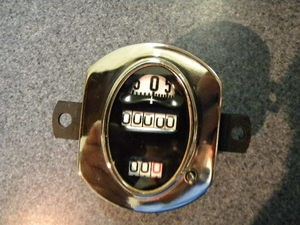 Model A Ford 1928-1930 OVAL Speedometer Stweart Warner