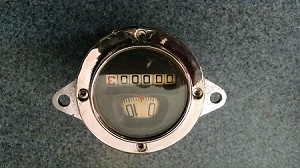 1930 1931 Round Northeast Speedometer