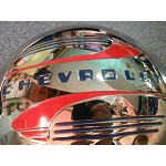 1941 - 1946 1/2 Ton 41-48 Chevy CAR Hubcaps