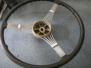 1939 Ford Banjo Steering Wheel, Fits 1937 and 1938