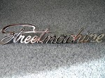 Street Machine Chrome plated emblem