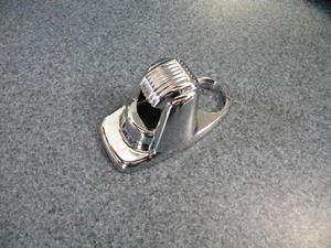 1941-1948 Chrome deck handle base