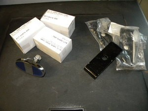1928-1929 Model A Ford Bumper Clamp Set
