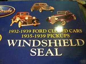 1935 1936 Windshield Seal