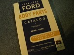 1944 - 1952 Ford Body Parts Catalog