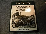 Model A and AA truck supplement to the Model A Shop manual