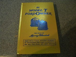 Model T Ford Owners Manual (hardcover)