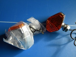 Diamond Chrome Plated Directional - Marker Lights. (pr)
