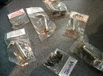 1930-1931 Complete Hood latch Set (look)