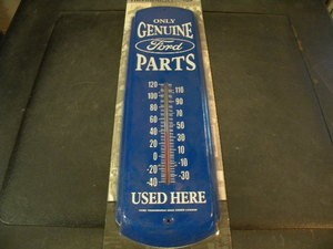 Genuine Ford Parts Blue wall thermometer