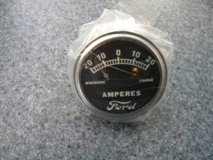 Model A Ford 20 Amp Ford SCRIPT Ammeter