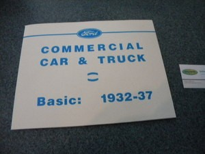 1932-1937 Sales Brochure - Commercial Truck & PU