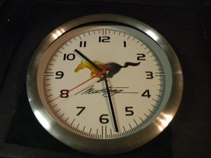 Ford Pony - Mustang Clock