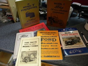 Model T Ford 7 Book Set (Save $$)