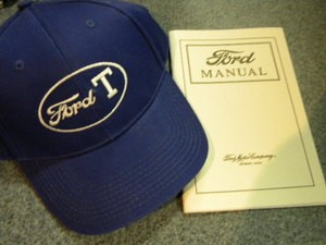 Model T Ford HAT and Owners Instruction Manual  (Gift Idea)