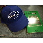 Model A Ford Hat and How To Restore Book (great Gift Idea)