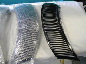 1940 Deluxe Ford Grille Side vents (pr)